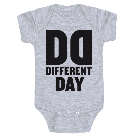 BFF Different Day (Tank) Baby Onesy