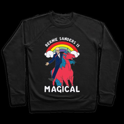 Bernie Sanders on a Magical Unicorn Pullover