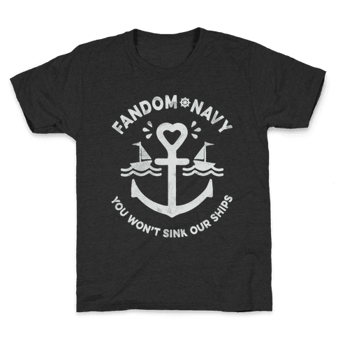 Fandom Navy Kids T-Shirt
