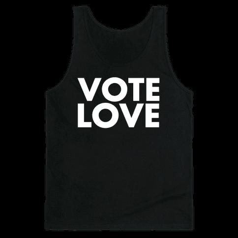Vote Love Tank Top