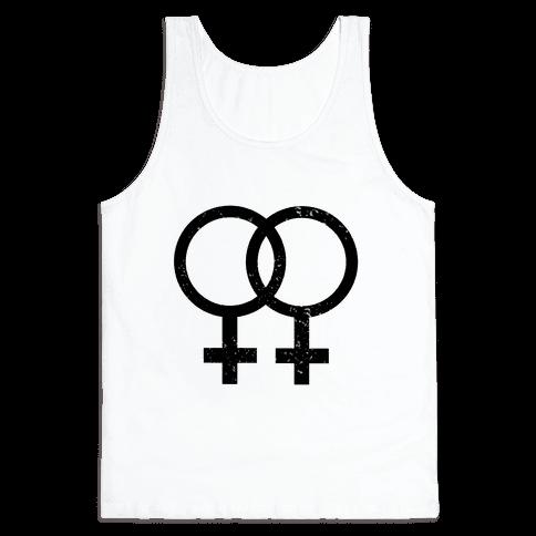 Lesbian Pride Tank Top