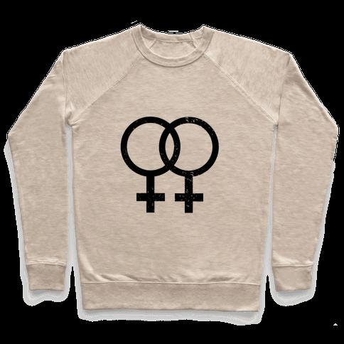Lesbian Pride Pullover