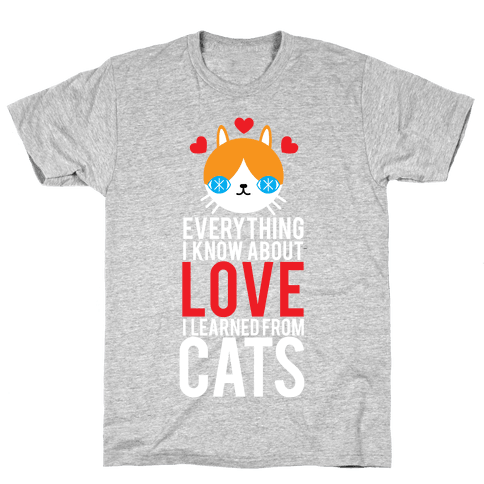 Everything I Know About Love Mens T-Shirt