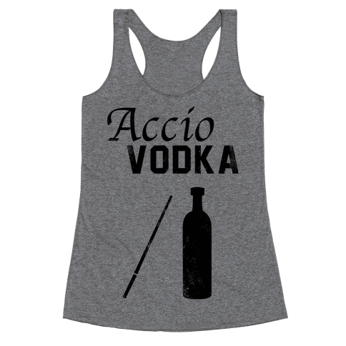 Accio VODKA Racerback Tank Top
