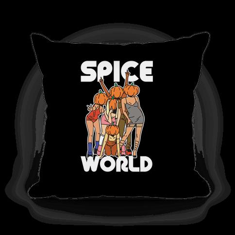 Spice World Pumpkin Spice Pillow