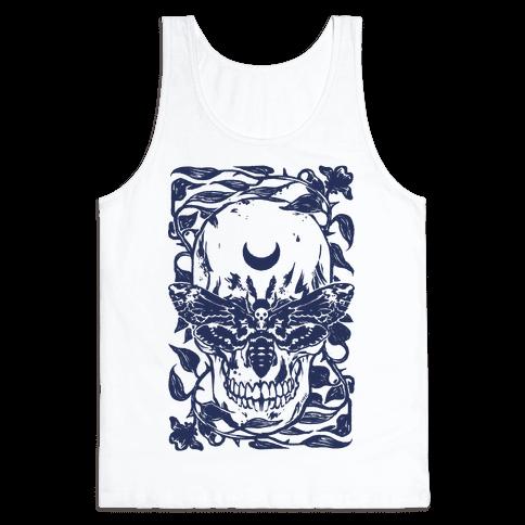 Skull Moth Tank Top