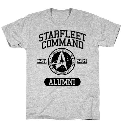 Starfleet Command Alumni T-Shirt