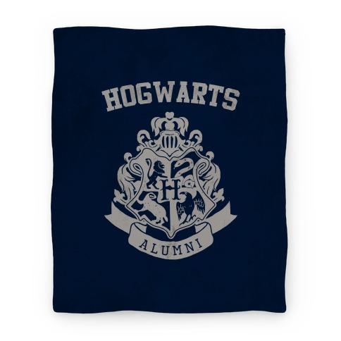 Hogwarts Alumni Crest Ravenclaw Blanket Blanket