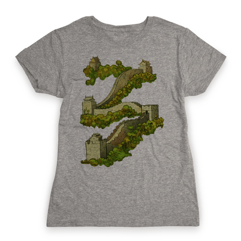 Great Wall Of China Travel Womens T-Shirt