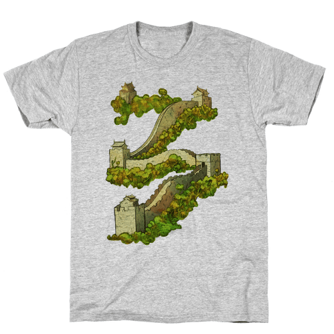 Great Wall Of China Travel Mens T-Shirt