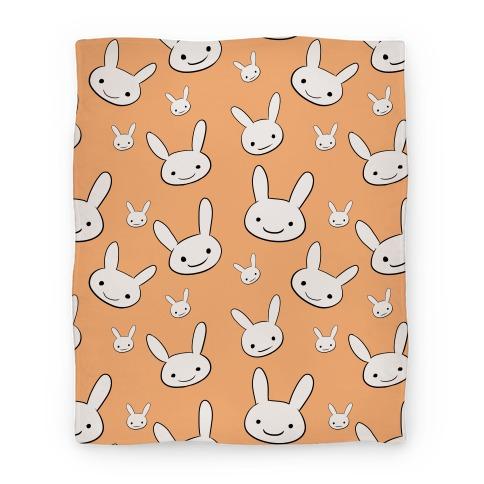 Ryoku's Bunny Pattern Blanket