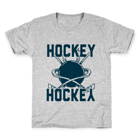 Hockey Upside Down is Still Hockey! Kids T-Shirt