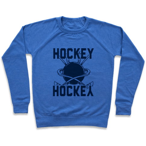 Hockey Upside Down is Still Hockey! Pullover