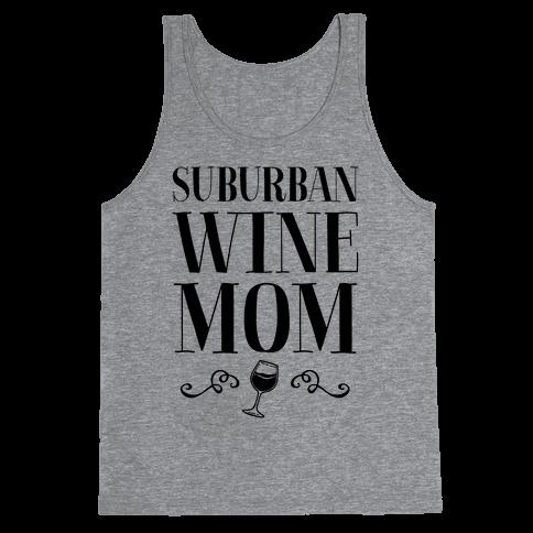 Suburban Wine Mom Tank Top