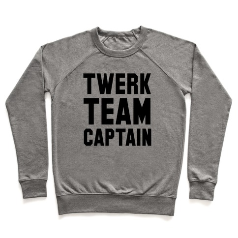 Baby Twerk Team Captain Pullover