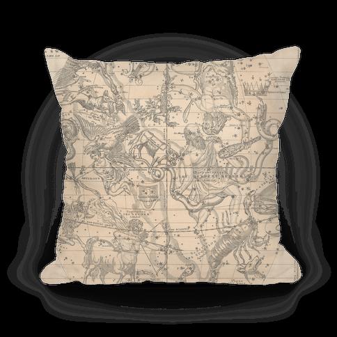 Constellation Map Pillow