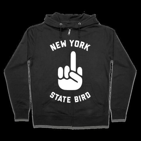 New York State Bird Zip Hoodie