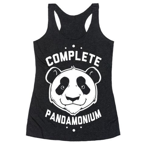 Complete Pandamonium Racerback Tank Top