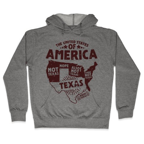 United States of Texas Hooded Sweatshirt