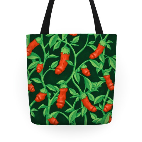 Peter Pepper Pattern Tote