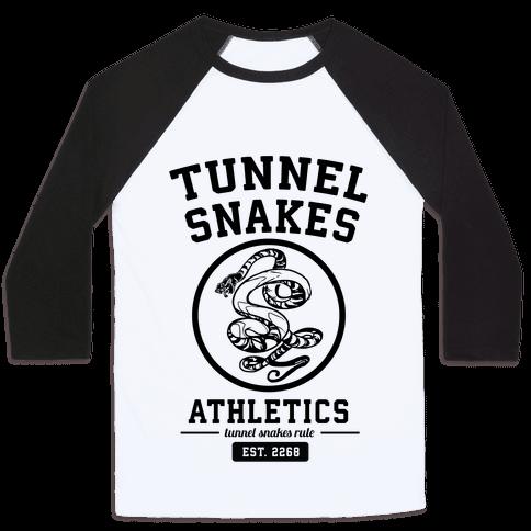 Tunnel Snakes Athletics Baseball Tee