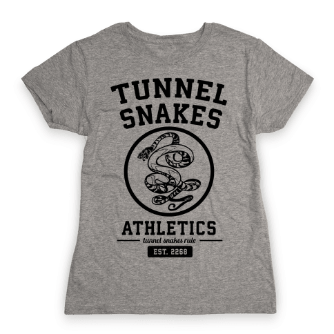 Tunnel Snakes Athletics Womens T-Shirt