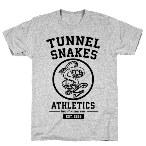 Tunnel Snakes Athletics Mens T-Shirt