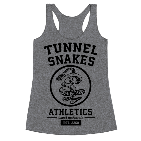 Tunnel Snakes Athletics Racerback Tank Top
