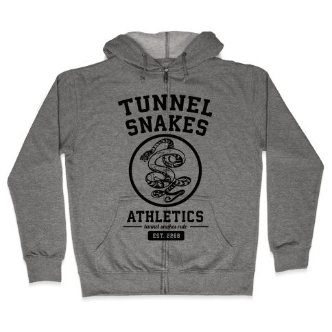 Tunnel Snakes Athletics Zip Hoodie