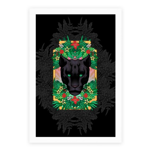 Lurking Panther Poster