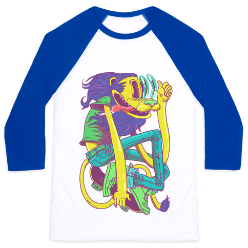 Rad Lion Baseball Tee