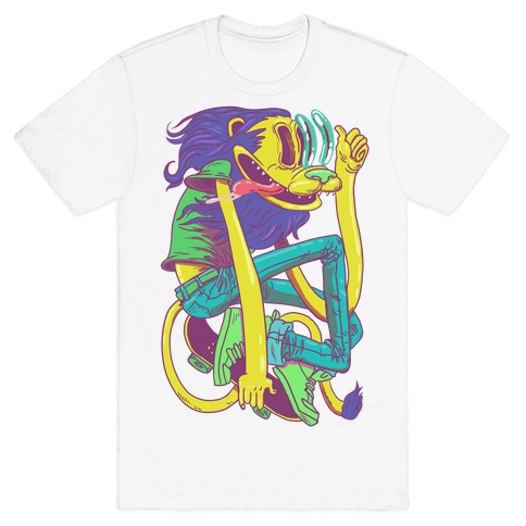 Rad Lion Mens T-Shirt