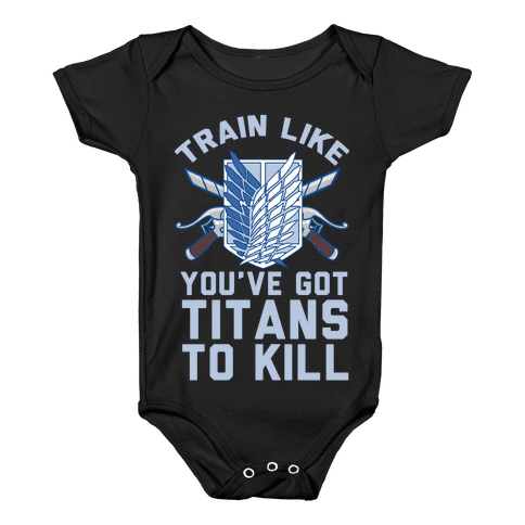 Titans To Kill Baby Onesy