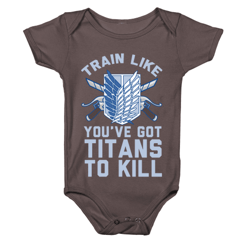Titans To Kill Baby One-Piece