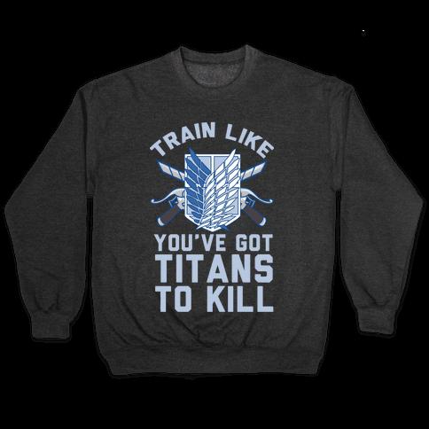 Titans To Kill Pullover
