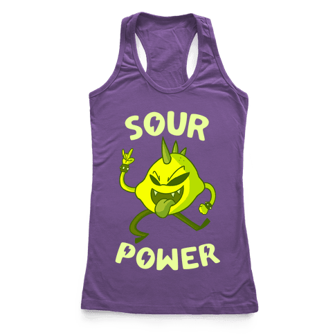 Sour Power Racerback Tank Top