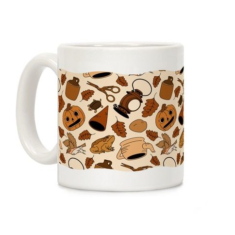 Into the Unknown Pattern Coffee Mug