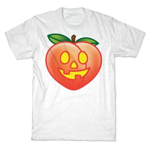 Peach Jack-O-Lantern T-Shirt