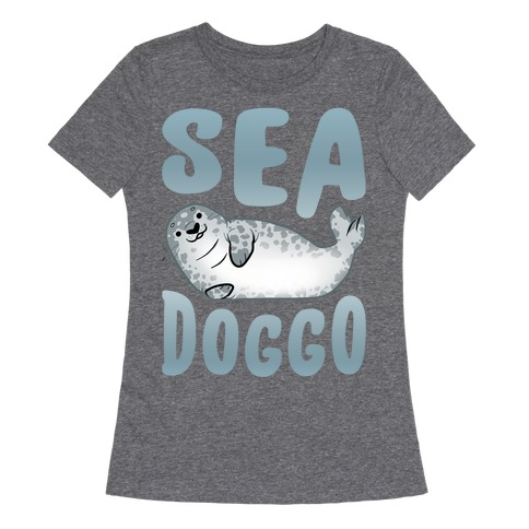 Sea Doggo Womens T-Shirt