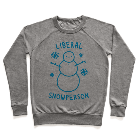 Liberal Snowperson Pullover
