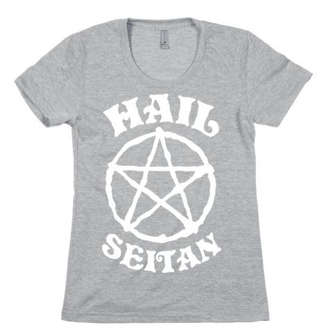 Hail Seitan Womens T-Shirt