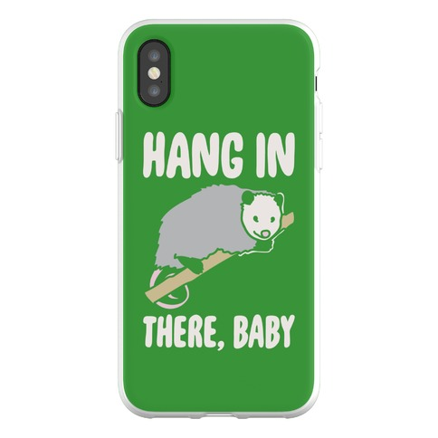 Hang In There Baby Possum Parody Phone Flexi-Case