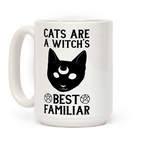 Cats are a Witch's Best Familiar Coffee Mug