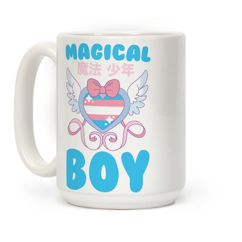 Magical Boy - Trans Pride Coffee Mug