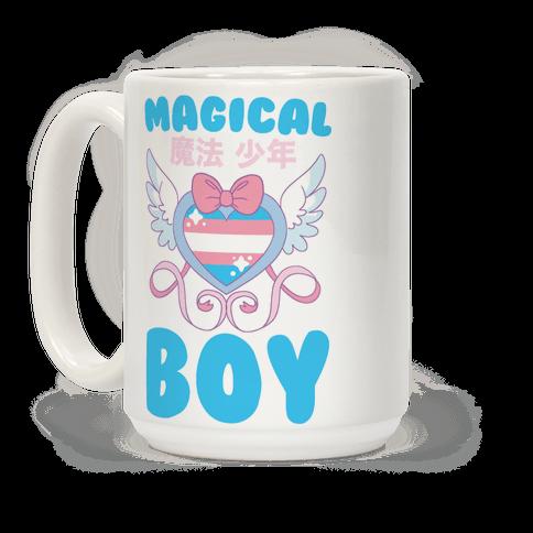 Magical Boy - Trans Pride Coffee Mug