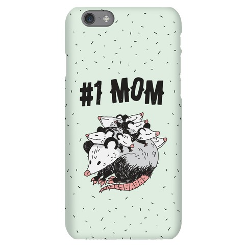 #1 Mom Opossum Phone Case