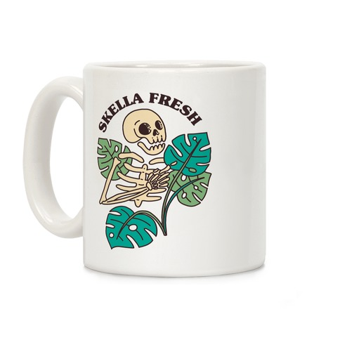 Skella Fresh Plants Coffee Mug