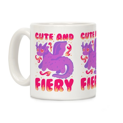 Cute and Fiery Dragon Coffee Mug