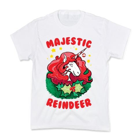 Majestic Reindeer Kids T-Shirt