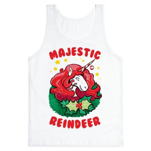 Majestic Reindeer Tank Top